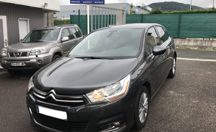 Citroen C4 Exclusive e-HDI 112cv BMP6 an.10/12